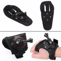 Wholesale Gopro Thumb Screws - Hot selling for Gopro 360 Degree Rotating Band Glove Style Wrist Strap Hand Mount with Thumb Screw for Gopro Hero 4 3+ 3 2 1