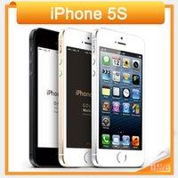 ingrosso cell phone for sale-2016 Vendita calda Smartphone sbloccato originale Apple Iphone 5S A7 Dual core 8MP fotocamera GSM WCDMA LTE IOS Multi-lingua cellulare