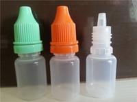 Wholesale Ml Dispensing Bottle - 10 ML Plastic Dropper Bottles NEW LDPE Dispense Store Most Liquids EYE DROPS e cig OIL Empay Plastic Bottle Drop bottle