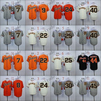 Wholesale Giant Blanco Jersey - San Francisco Giants #7 Gregor Blanco #8 hunter pence 2015 Baseball Jersey Cheap Rugby Jerseys Authentic Stitched Free Shipping Size 48-56