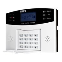 Wholesale Home Security Alarm System 433mhz - Wireless GSM SMS Home Burglar Security Alarm System Detector Sensor Kit Remote Control 433MHz S490-EU