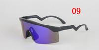 ingrosso rasoi per gli uomini-9140 marca Uomo Donna outdoor occhiali da sole Moda Style Occhiali Occhiali Razor Blades occhiali Occhiali da sole da ciclismo gratuiti