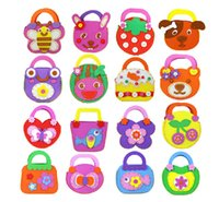 Children Gift Education Kids Toy DIY Craft Kit - EVA Bag - projetos mistos 10 conjuntos / atacado por atacado