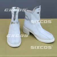 Wholesale Asuna Shoes - Wholesale-Handmade Sword Art Online Yuuki Asuna Cosplay Shoes White Boots Custom-made