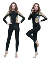 Wholesale Wetsuit Top L - 2015 new arrival long sleeve sun protection wetsuit women's diving suit jellyfish surfing top,free shipping