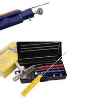 Wholesale Hot Sale Sharpener - Hot Sale Portable Fix-angle Apex Edge Knife Sharpener Set 5pcs Sharpening Stones Grinding Tool Professional Afiador De Faca free