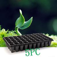 ingrosso piante di semi di giardino-15 PZ 21 32 50 Fori Semi di Fiori Vegetali Crescenti Vasi per Fiori Vassoio da Giardino Pianta Vivaio Semenzale Piatto per la Casa Giardino Semina