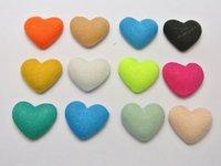 ingrosso copertine del bottone-50 bottoni ricoperti in tessuto Flatback colore misto 16mm per Clip per capelli fai da te