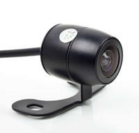 Wholesale Auto Kamera - New Waterproof Wide Vision Car Auto Rear View Reverse Backup Color Camera Kamera, Free amp; Drop Shipping M6926