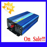 Wholesale Inverter 2kw - Fedex DHL Freeshipping! 2000W 2kw   4000W 4kw Off Grid Pure Sine Wave Inverter , Solar&Wind inverter