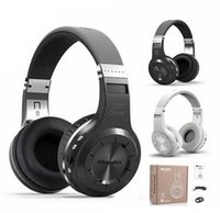 Wholesale Over Ear Headphones Microphones - Bluedio T2 Wireless Bluetooth 4.1 Stereo Headphone Foldable Over-ear Headset Built-in Mic Support TF Card   FM for Smartphone