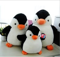 Wholesale Plush Pillow Penguin - 2015 Lovely PENGUIN Stuffed Animal Plush Soft Toys Cute Doll Pillow Cushion Kids Gifts Animal penuins Plus Toy Dolls 28 38 48 D3810