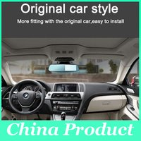 Wholesale Front Vehicle Camera - HD 4.3 inch LCD Dual Lens Car Video Dash Cam Recorder 3in1 Rearview Mirror Front Vehicle Car DVR Rear View Camera 010229