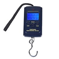 Wholesale Balance Electronic Fish - New Hot Selling Portable Mini Electronic Digital Scale Hanging Fishing fish Hook Pocket Weighing Balance Hook