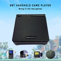 Wholesale Hold Boy - Wholesale-GB Station Light boy SP PVP Hand Held Game Console Classic Games Portable Handheld Game Video Player For Children Gaming Toys