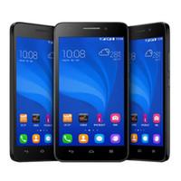 ağ video telefonu toptan satış-Dört çekirdekli 4G ağ Ram 1 GB Rom 8G unlocked huawei onur akıllı telefon 5 inç G620S WIFI ile Bluetooth cep telefonu Android GPS Bluetooth