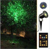 Wholesale Christmas Flood Lights - Christmas Laser Lights Outdoor Waterproof IP65 Garden stage Light LED Flood Projector wall decoration lawn house tree lamps Green&Red