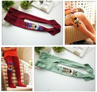 Wholesale Dhgate Kids - 7 Colors Baby Leggings Christmas Deer Infant Kids Girls Cotton Pants Embroidery Lovely Deer Warm Stretchy Leggings Christmas Gifts Dhgate