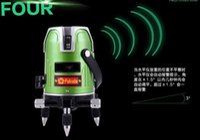 Wholesale Laser Line Green - Wholesale-Free shipping fukuda automatico self leveling green line nivel de laser level 4v1h