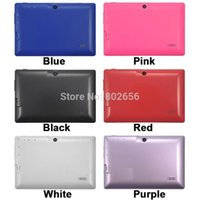 Wholesale Tablet Q88pro - Wholesale-Big discount!!7 inch Quad Core Q88pro Allwinner A33 Dual Camera Android 4.4.2 512MB 4GB tablet pc Hot sell! free shipping!