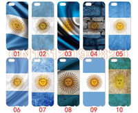 Wholesale S3 Mini Case Flag - Argentina flag For iPhone 6 6S 7 Plus SE 5 5S 5C 4S iPod Touch 5 For Samsung Galaxy S6 Edge S5 S4 S3 mini Note 5 4 3 phone cases
