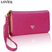 Wholesale Iphone 4s Fashion Wallet - 2015 Fashion Multifunctional Envelope Women Wallet Purses Clutch Bag Phone Case Cover for iPhone 4S 5S 6 for Samsung