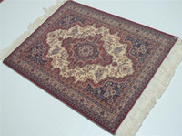 Wholesale Magical Flower - Wholesale-New Magical Persian Carpet Mouse Rug Purple Flower 08