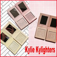 Wholesale Hot Wholesale - Hot New Kylie Highlighters Kylighters 6 Colors Kylie Cosmetics Waterproof Brighten Natural Kylie Makeup Kylighter DHL Shipping