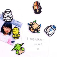 Wholesale Sticker Magnets - Newest Star Wars Fridge Magnet 2016 Cute Cartoon Fashion Star War Darth Vader Funny Refrigerator Toy