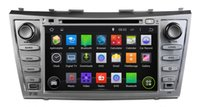 Wholesale Camry Bluetooth Stereo - Pure Android 4.4.4 8inch Capacitive Touchscreen Car DVD Player For Toyota CAMRY 2007-2011