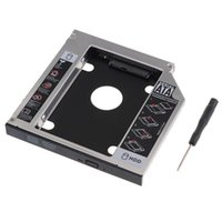 Wholesale Hdd For Asus - Wholesale- 2nd SATA Hard Drive HDD SSD Caddy Adapter for ASUS k55N N56JN N56VZ-S4278H