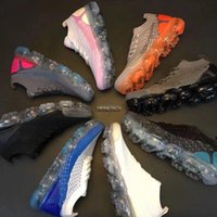 Wholesale Tpu Sports Shoes - 2018 New Mens Vapormax 2 Running Shoes For Women Sneakers Knitting TPU Fashion outdoor Athletic Sport Shoe Hiking Jogging Walking trainers