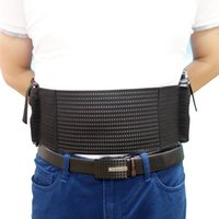 Wholesale active dual - Mesh Elastic Breathable Concealed Carry Belly Band Holster with Mag Slot Dual Holster for Carry two