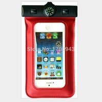 Wholesale Perfect S3 - Universal Underwater cases for iPhone 4 4S 5 5S 5C Mobile waterproof bag case for galaxy s2 s4 s3 s5 Perfect Underwater Diving Pouch+compass