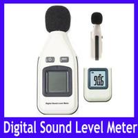 Wholesale Mini Digital Sound Level Meter - Mini Digital sound level meter GM1351 Measuring range:30dBA-130dBA MOQ=1 free shipping