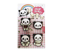 Wholesale Modeling Cake Pastry - 5 Set Cute Panda Pattern Cake Cookie Bread Mold Mould Biscuit Modeling Cutter Pastry Baking Tool