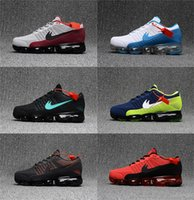 Nuovo arrivo Vapormaxes Plyknit Running Shoes Uomo Trainers Tennis Vapor Maxes 2018 Kpu Shoes Man Homme Sport Authentic Sneakers Taglia 40-47