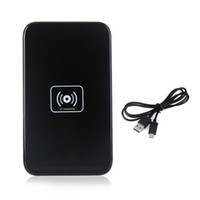 Wholesale Note2 Galaxy Pad - Black White QI Wireless Charger Pad for Samsung Galaxy S6 S5 S4 S3 NOTE2 3 4 Google Nexus 4 5 Lumia 920