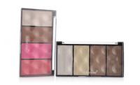 обрезной порошок оптовых-Wholesale-MOTHER HOME 4 color trimming 3D highlight/Blush  shadow brighten face-lift 2pcs/lot contouring authentic   2015