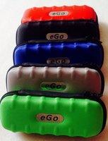 Wholesale Ego Nylon - Whosale-New Ego case e cigarette carry bag Nylon fiber bag zipper case M size new style bag with well handle feeling high quality free ship