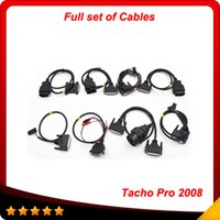 Wholesale Universal Programmer Price - 2016 favorable price Universal Unlock Dash Programmer Tacho pro full set cables Tacho full set cables free shipping