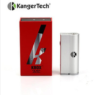 kanger subtank mini mejor al por mayor-100% Original Kanger Kbox mod 40W Kit de nano Kox Subox de Kangertech Kox Subox apto para subtank mini 8-40W El mejor precio ofrecido
