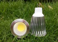 Wholesale Led Mr16 Base - MOQ30 7W COB LED Spotlights Bulb Lampada AC 85-265V DC 12V MR16 GU10 E27 E14 GU5.3 Base Bombillas Warm white Cool white Lights Lighting