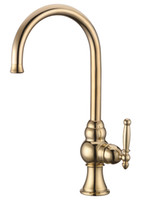Wholesale Kitchen Faucet Ceramic Valve - CLOUD POWER Bathroom Sink Faucets Taps with Brass ,Ceramic Valve Core Kitchen Basin Faucet Gold with Single hold