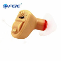 Wholesale Hearing Aid Voice Amplifier - Clear Sound Mini Small Medical Supplies aparelho auditivo ear Sound Amplifier Hearing Aids Mirco Volume Conrol Best Voice S-9A