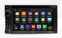 Wholesale Head Unit Audio Tv - Inerchangeable Android 4.4 Head Unit Car DVD Player GPS Navigation with Radio Bluetooth USB SD AUX WiFi Auto Audio Video Stereo