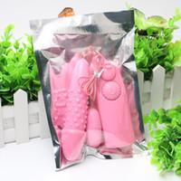 Wholesale Sex Items Wholesale - Pink Double Vibrating Jump Eggs Bullets Vibrator Massager Clitoral Stimulator Masturbator Sex Toys for Women Adult Item 08MP