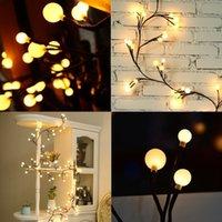 Wholesale Dorm Lights - Globe Decorative String Lights 8.3Ft 72 LED Hanging Indoor Outdoor String Lights for Garden,Xmas Party,Bedroom,Dorm,Window Curtain