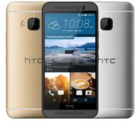 Wholesale One Inch Android - Refurbished Original HTC One M9 Cell Phone Quad core 3GB 32GB 5.0 inch 1920*1080 1.5GHz 20MP 4G LTE Unlocked