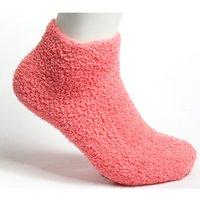 Wholesale Pink Fuzzy - Wholesale-12 colors solid casual cotton womens socks meias natural color fuzzy cute socks women chaussette femme ladies socks WS090403001.